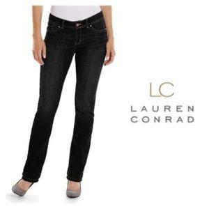 LC Lauren Conrad Dark Jeans Slim Bootcut  2 NWT